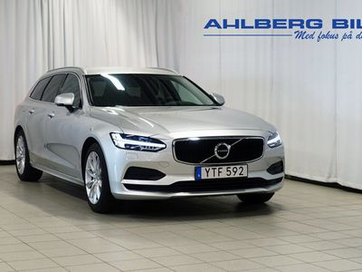begagnad Volvo V90 T4 Momentum SE, ader, On Call, Rattvärme, Parkeringssensor bak, Baksätesvärme, Mörktonade rutor 2019, Kombi 279 500 kr