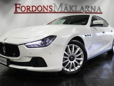 begagnad Maserati Ghibli 3.0 V6 275hk 1 ÄGARE SV-SÅLD