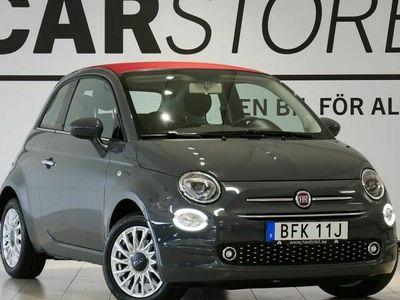 begagnad Fiat 500C 1,2 69Hk Lounge