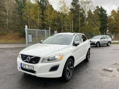 begagnad Volvo XC60 D3 163hk R-Design Panorama Toppskick Nyservad