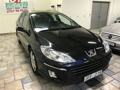 begagnad Peugeot 407 2,0 HDI / Automat / Ny servad / Ny bes