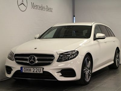 begagnad Mercedes E200 Kombi, AMG Line, D-Värmare, Drag