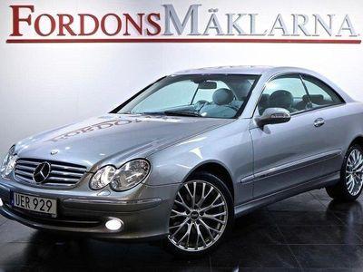 begagnad Mercedes CLK320 AUT 218HK SKINN BLACK W