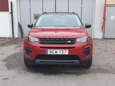 begagnad Land Rover Discovery Sport