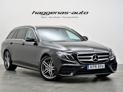 used Mercedes E220 4MATIC AMG / Panorama / LÅG SKATT