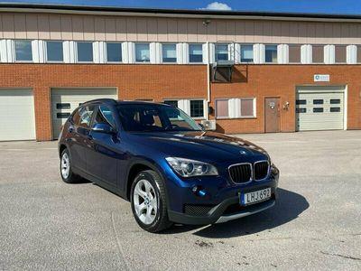 begagnad BMW X1 xDrive20d 184hk AUT 10000 mil Navi Drag Toppskick