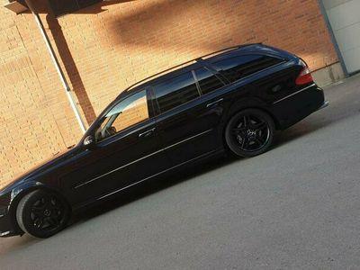begagnad Mercedes E55 AMG amg 540hk