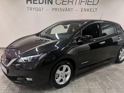 begagnad Nissan Leaf N-CONNECTA 40 KWH Vinterhjul 1 Ägare 2019, Halvkombi 289 900 kr