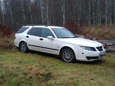 begagnad Saab 9-5 2,3t EX59 + resdels bil.