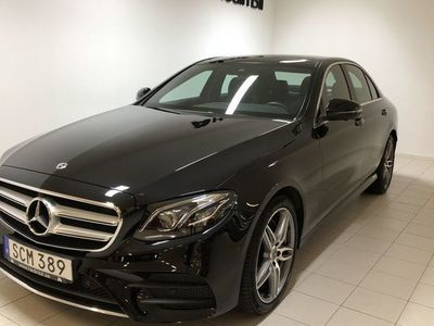 begagnad Mercedes E220 4MATIC SEDAN AMG-PKT