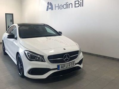 begagnad Mercedes CLA180 Coupe AMG Line