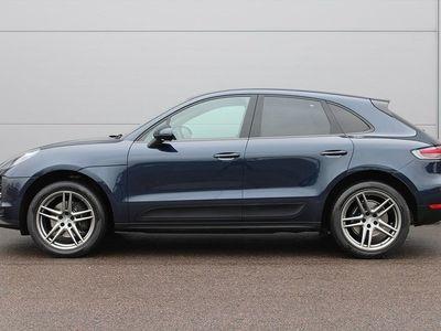 "begagnad Porsche Macan PDK 245hk Drag Värmare BOSE Läder 20"""