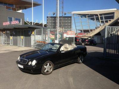 begagnad Mercedes CLK430 cab
