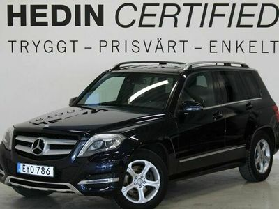 begagnad Mercedes GLK220 - BenzBlueTec 4M Drag Navi Panorama Harman / Kardon