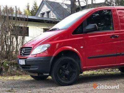 begagnad Mercedes Vito 115 CDI 4x4