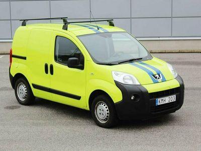 begagnad Peugeot Bipper 1.4 HDi 68hk Diesel Nybesiktigad Dragkrok