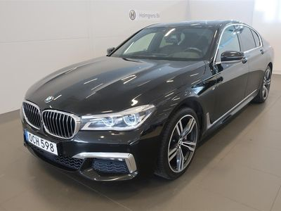 begagnad BMW 740 d xDrive / M-Sport / B&W / D-Värmare
