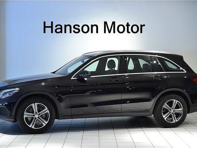 begagnad Mercedes 220 GLC Benzd 4MATIC 9G-Tronic Euro 6 2017, SUV 379 000 kr