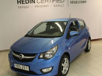 begagnad Opel Karl 1,0 75HK 5D APPLE CARPLAY S+V-HJUL