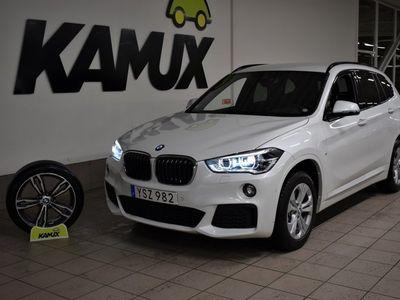 begagnad BMW X1 xDrive20d | M-Sport | Navi | Backkamera | Drag | S&V | 190hk