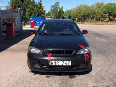begagnad Opel Astra coupe Bertone 2,2