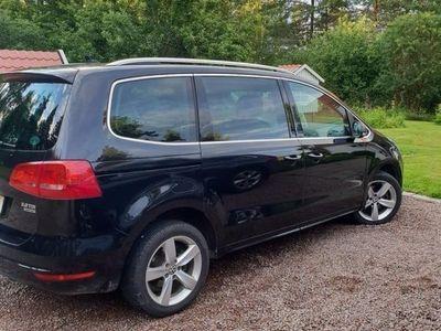 begagnad VW Sharan 4-motion 7-sits Panorama