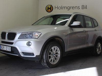 brugt BMW X3 xDrive20d Automat/ Eluppvärmd ratt/ Sportstol