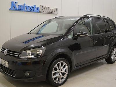 begagnad VW Touran Cross 1.4 TSI 7-sits Drag 1 Brukare 140hk