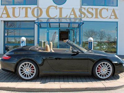 begagnad Porsche 911 Carrera 4S Cabriolet 997