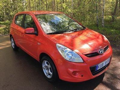 begagnad Hyundai i20 5-dörrar 1.2 77hk/Ny Besiktat/Kam