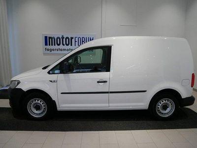 begagnad VW Caddy Skåp TDI 75 HK Drag komfortp