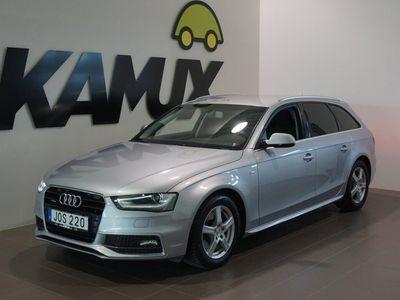 begagnad Audi A4 2.0 TDI Q S-Line Navi Drag (190hk)