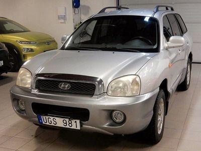 begagnad Hyundai Santa Fe GLS 2,4 4WD