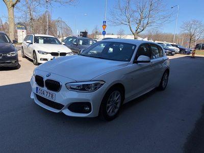 begagnad BMW 118 i M Sport Automat Dragkrok Skinnklädsel