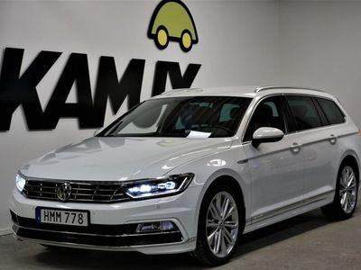 begagnad VW Passat 2.0 TDI 4M R-Line Drag S&V-Hjul (240hk)