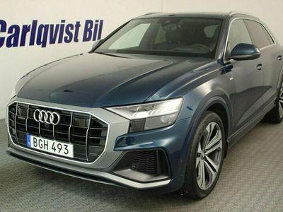 begagnad Audi Q8 50 TDI quattro 50D 3,0 286HK 4x4 S-line Navi Aut