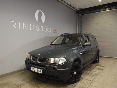 begagnad BMW X3 2.0d 150 HK AWD E83 DRAG ADVANTAGE
