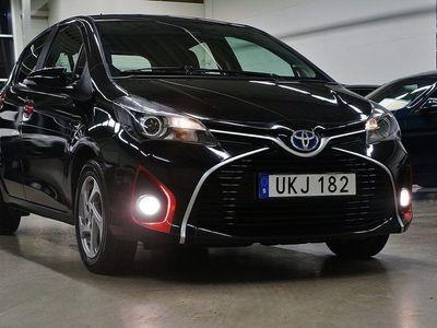 begagnad Toyota Yaris Hybrid 1.5 VVT-i CVT Backkamera 101hk