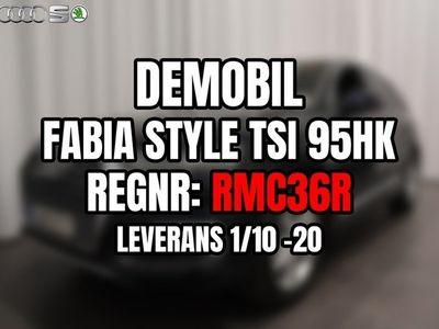 begagnad Skoda Fabia Style TSI 95hk