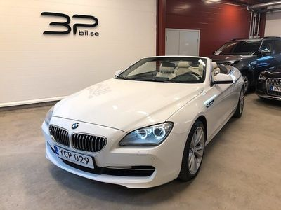 begagnad BMW 640 i xDrive Convertible 320hk /Euro6/