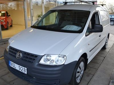 begagnad VW Caddy Maxi Life Caddy Maxi Ecofuel Verkstadsinredning Drag 2010, Personbil 47 000 kr
