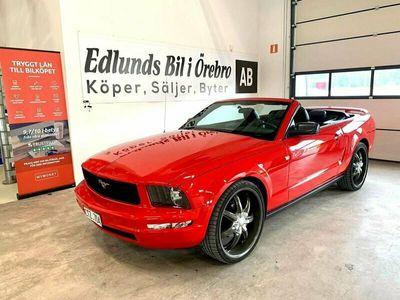 begagnad Ford Mustang Cabriolet 4.0 V6 SOHC Automat 213hk 4800mil