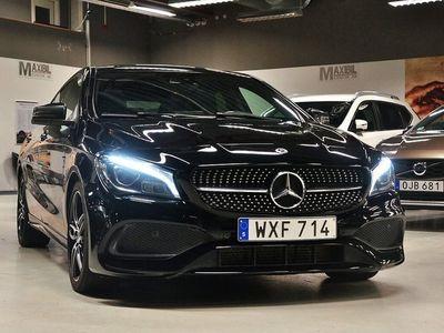 begagnad Mercedes CLA220 Shooting Brake d 4M 4M.AMG Sport Navi Panorama Värmare 177hk