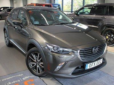 begagnad Mazda CX-3 Optimum 2.0 150hk Aut AWD - MOTORVÄRMARE
