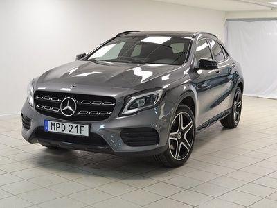 begagnad Mercedes GLA220 4MATIC 7G-DCT AMG 184hk