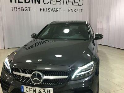 begagnad Mercedes C200 D KOMBI AMG / PANORAMATAK