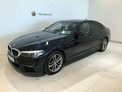 begagnad BMW 520 d xDrive M-Sport / Connected / Värmare / Drag