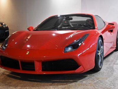 begagnad Ferrari 488 GTS SPIDER 670hk SV-SÅLD SE SPEC