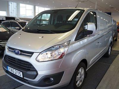 begagnad Ford Custom 2,2TDCI 310L2 Limited Alu Drag 2016, Personbil 229 000 kr