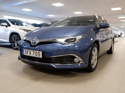 begagnad Toyota Auris Touring Sports Hybrid 1,8 HSD TS EXE